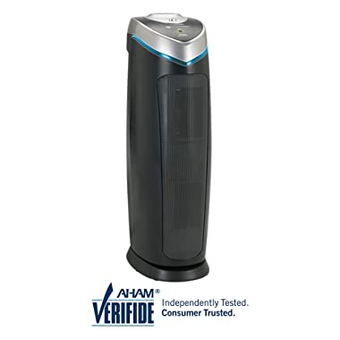 "GermGuardian AC4825 22"" 3-in-1 Full Room Air Purifier, True HEPA Filter, UVC Sanitizer, Home Air Cleaner Traps Allergens, Smoke, Odors, Mold, Dust, Germs, Pet Dander, 3 Yr Warranty Germ Guardian"