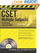 #8: CliffsNotes CSET: Multiple Subjects with CD-ROM, 3rd Edition