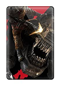 Best 3844715K87101774 premium Phone Case For Ipad Mini 3/ Wolfenstein The New Order 2014 Game Tpu Case Cover