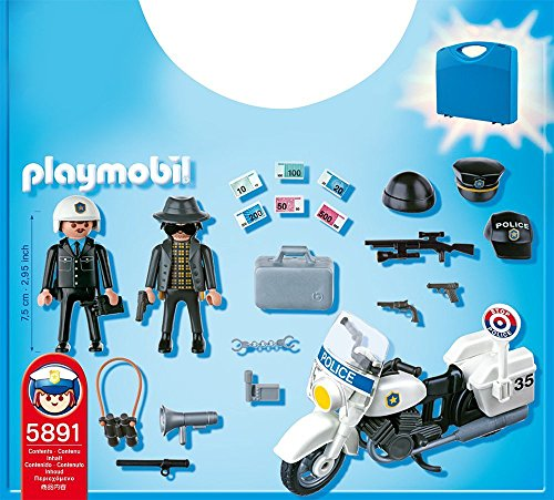 playmobil police carrying case figures amazon canada