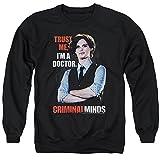 Criminal Minds FBI Drama Series Spencer Trust Me I'm A Dr. Adult Crew Sweatshirt