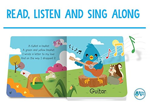 Ditty Bird Our Best Interactive Instrumental Music Book Babies. Educational Toys 1 Year Old. Toddler Musical Book to Learn Musical Instruments. Board Books 1 Year Old. 1 Year Old boy Girl Gifts. by Ditty Bird (Image #2)