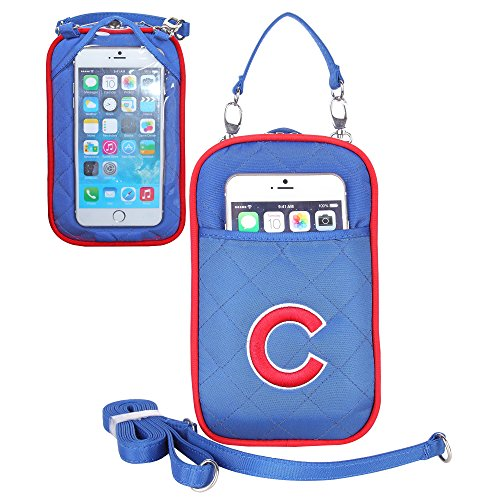 Chicago Cubs Cell Phone Purse Quilt- Universal Fit