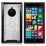 - Present Life Education Learning Quote Road - Slim Guard Armor Phone Case- For Nokia Lumia 830 Devil Case