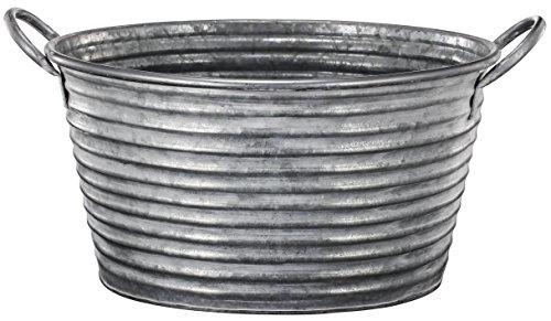 ab-home-galvanized-metal-handled-planter