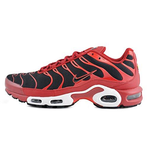 Nike Air Max Plus 2772 Rojo 852630 601 Tn - Calzado Deportivo De Lona En Cuero Unisex (rojo Duro / Negro Chile Rojo)