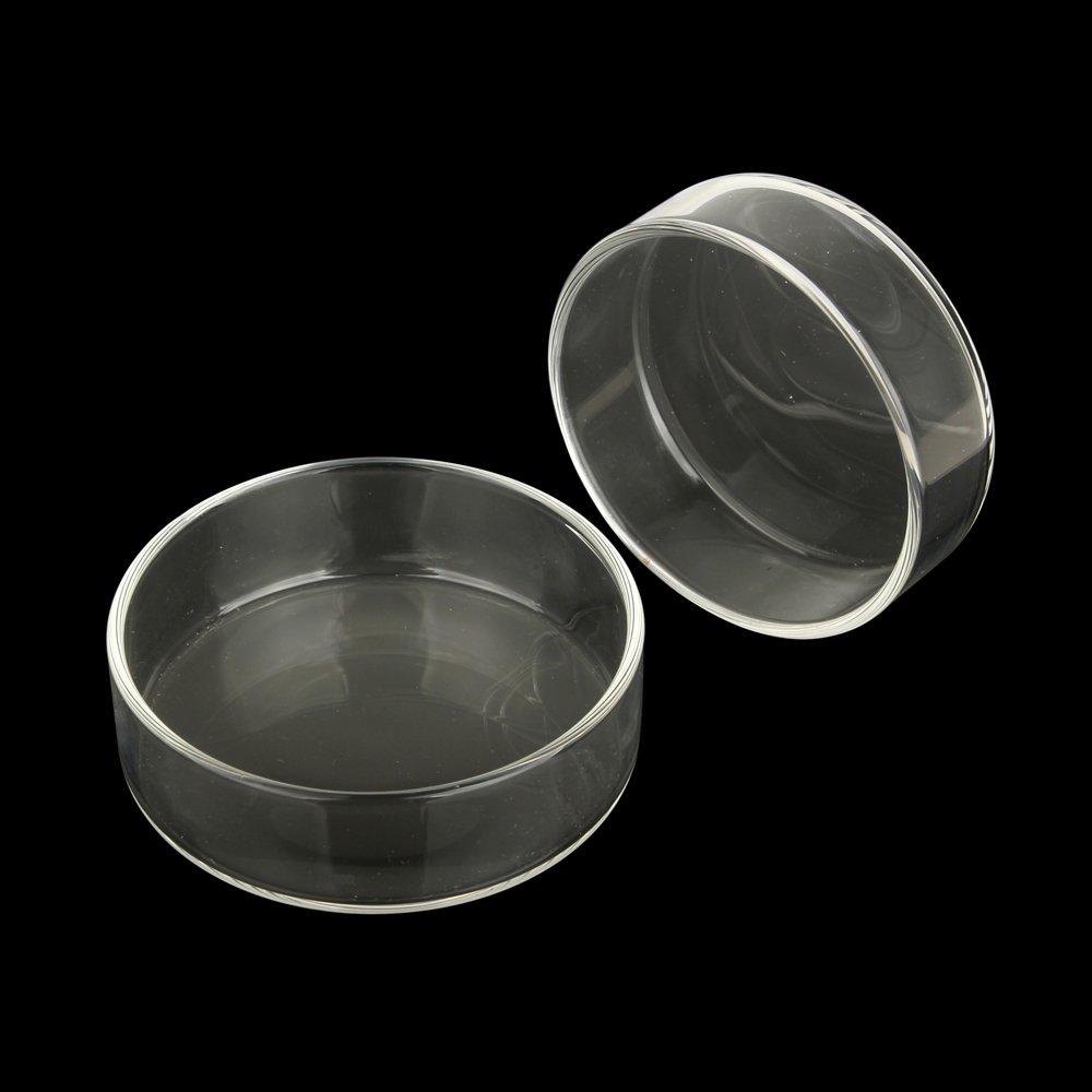Senzeal Aquarium Clear Glass Feeder Tube for Fish Tank Shrimp Feeding with 2pcs Suction Cups 350mm/13.7'' Length SZL-CA-00116