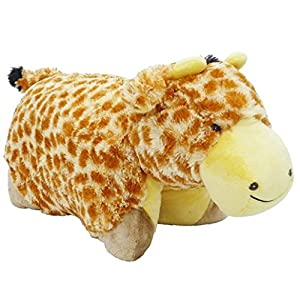 My Pillow Pets Giraffe - Large (Yellow And Tan) - 51jsg6lz24L - Pillow Pets Signature, Jolly Giraffe, 18″ Stuffed Animal Plush Toy