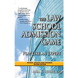The Law School Admission Game Audiobook