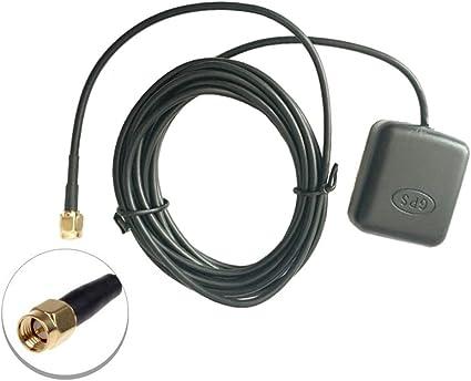 SaferCCTV Antena de navegación GPS Universal SMA Conector de ...