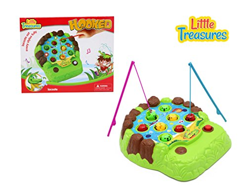 Little Treasures Hooked-Competition fishing play set for 3+ aged preschoolers