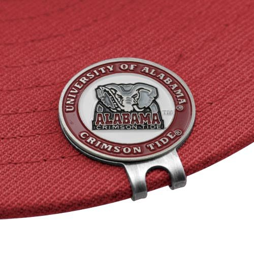 NCAA Alabama Crimson Tide Ball Markers & Hat Clip Set