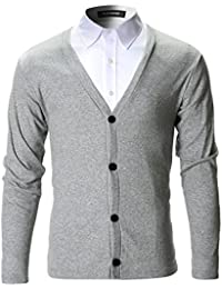 Mens Slim Fit Stylish Button up Cardigan