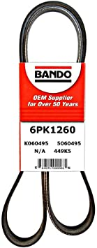 Bando 6PK1080 OEM Quality Serpentine Belt