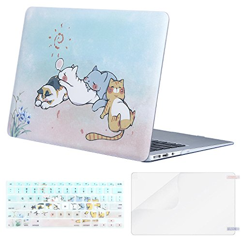 MOSISO MacBook Air 13 Inch Case , Plastic Pattern Hard Case