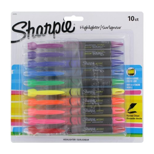 sharpie-highlighters-surligneur-assorted-colors-10-pack
