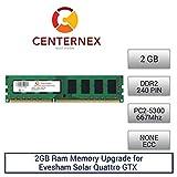 2GB RAM Memory for Evesham Solar Quattro GTX (DDR25300 NonECC) Desktop Memory Upgrade by US Seller