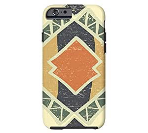 Abstract Enchanting Colors and iPhone 6 Easter Egg Yellow Tough Phone Case