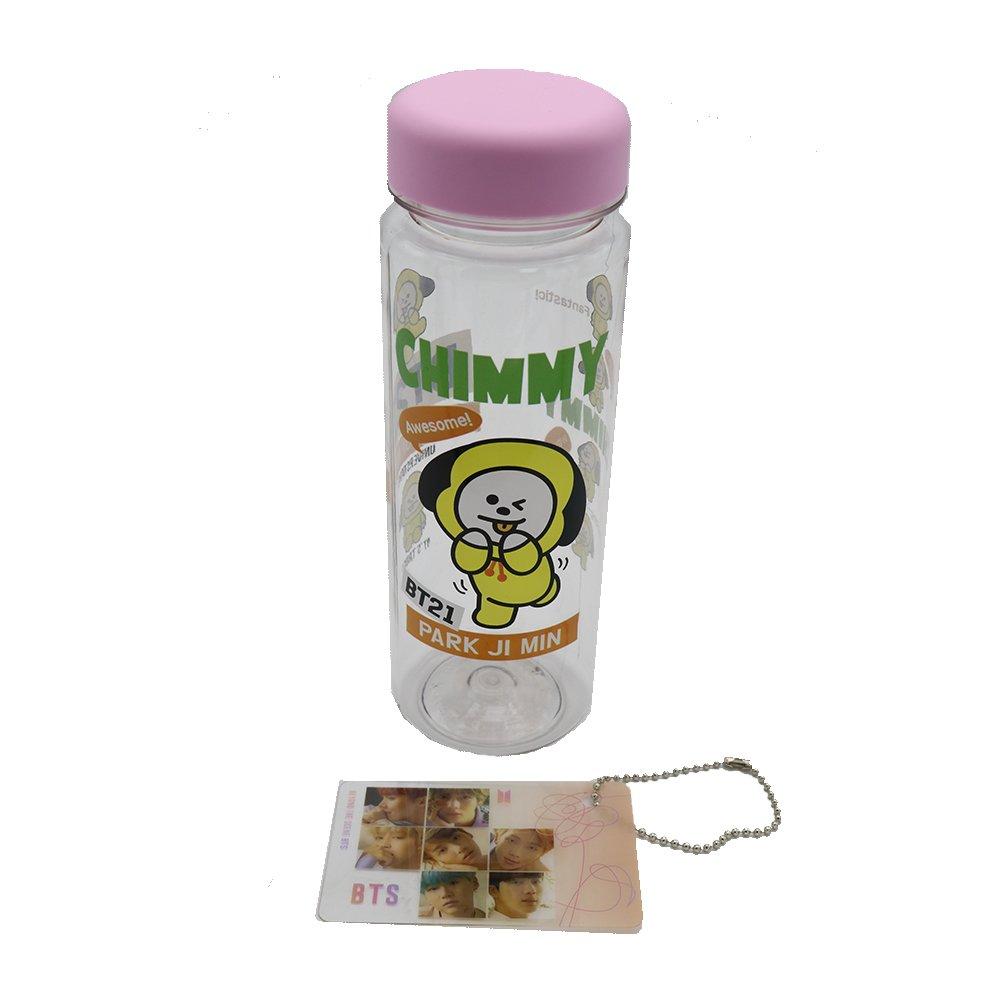 BT21 BTS Bangtan Boys Character Water Bottle (Chimmy Jimin) LF