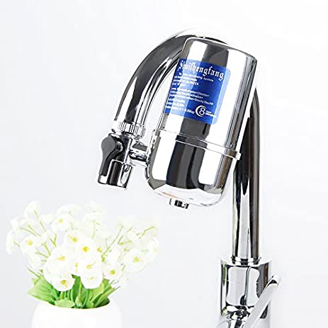 Great NeillieN Faucet Filter, Drinking Water Filter, Water Purifier For Kitchen,  Chrome Finish,
