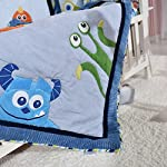 Blue-Sea-Monster-Crib-Bedding-Quilt-Only-Baby-Bedding-Girl-Boy-Toddler-Nursery-Quilt-Unisex