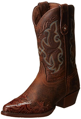 Tony Lama Vaquero Collection Boot (Toddler/Little Kid/Big Kid),Tan Savannah/Tan Savannah,3 D US Little Kid -