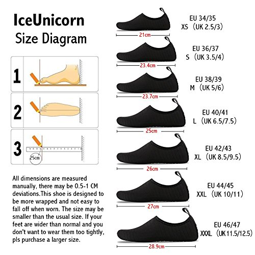 Socks Shoes Diving Shoes IceUnicorn for Grid Mens Water Snorkeling Skin Barefoot Yoga Swim Womens Beach Outdoor Exercise Surfing Running 00zgnvqy