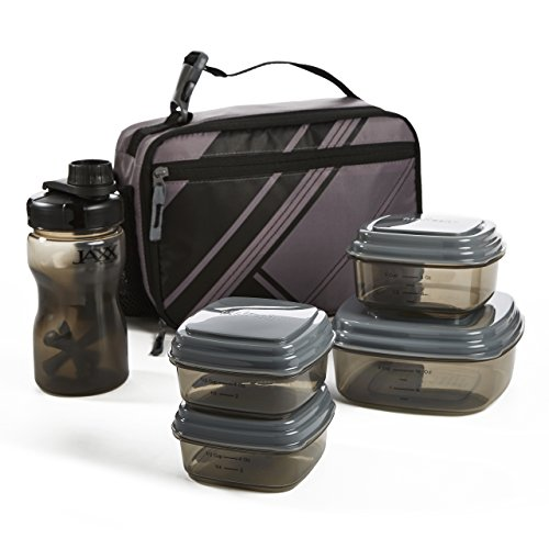 Fit & Fresh Gio Lunch Kit with BPA-Free Container Set & Wate