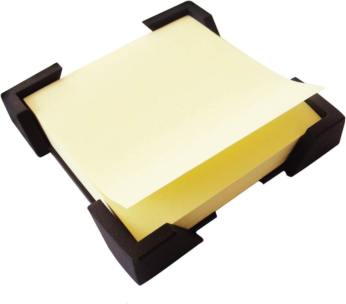 ArtsOnDesk Art Moderne Note Distributeur Bk309 Acier noir Notes M/émo Post Accessoire de Bureau It Note Devidoir Cadeau de No/ël
