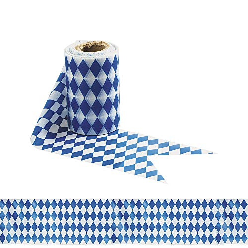 Oktoberfest Party Tape 50ft x 3in | Holiday, Event & Party Supplies