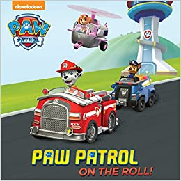 amazon paw patrol on the roll paw patrol pictureback r