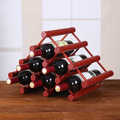 AK Estante exquisito para vino casero - Estructura de madera ...