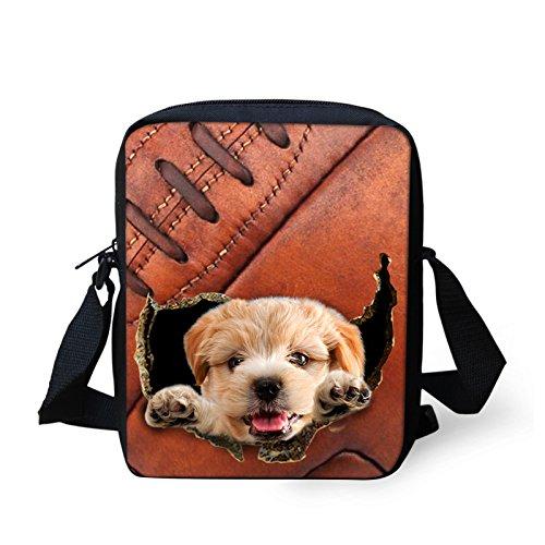 AASSDDFF Mujeres Messenger Bags 3D Denim Animal Shoulder Bag Bolsos Cute Cat Messenger Bags Niños Crossbody Bolsa para Niñas, 30 43
