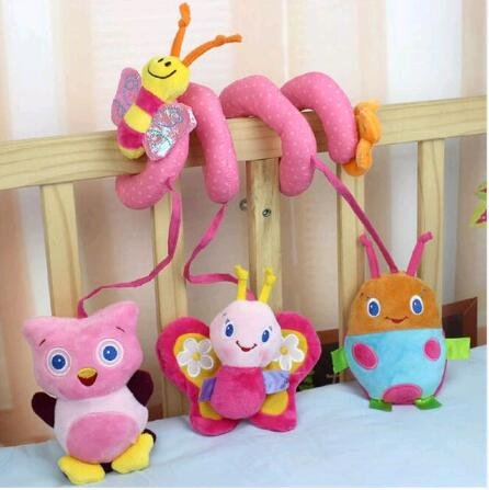 Crib revolves around the bed stroller toy car lathe hanging baby rattles 0+Baby