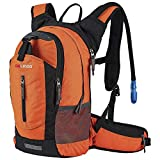 Lightweight Daypack by Gelindo, Durable Hydration Pack with 2.5L Water Reservoir for Travel