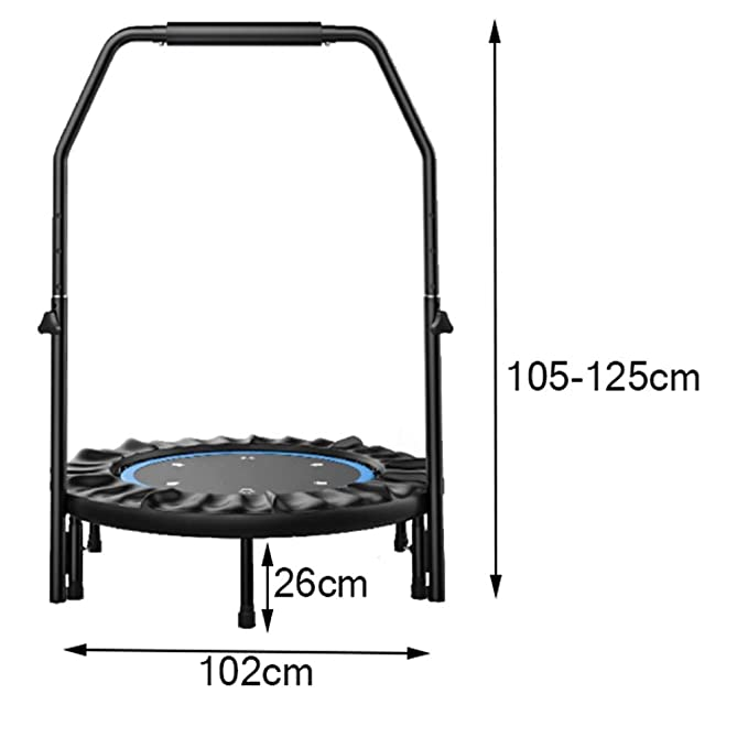 WYJ-Trampoline Trampolín de Fitness para Adultos - Mini Cama ...