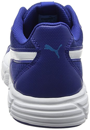 Puma Unisex-Erwachsene Axis v4 Grid Low-Top, Blau (True Blau Weiss), 43 EU