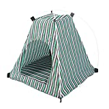 Da.Wa Pets House Waterproof Pet Tent Durable Foldable Dog Cat Bed House Puppy Kitten Cave for Indoor Outdoor Sleep Tent Pet Supplies (Green) Review