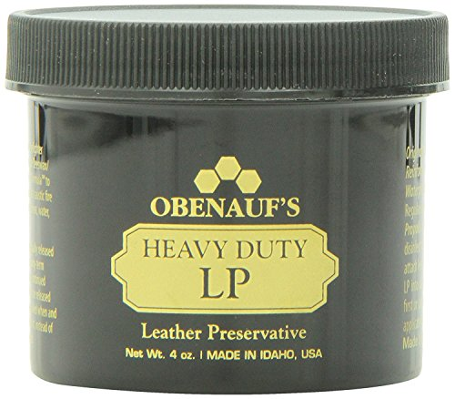 Obenauf's Heavy Duty LP - Preserves and Protects Leather - Great for Boots and More - 4 (Leather Wax)