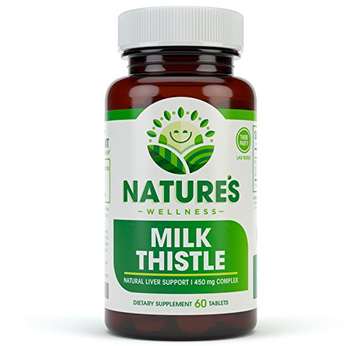 Milk Thistle | 80% Standardized Silymarin Extract for Maximum Liver Support – Detox, Cleanse & Maintain Your Liver – Extract & Seed Complex – Natural Herbal Supplement | 60 Tablets