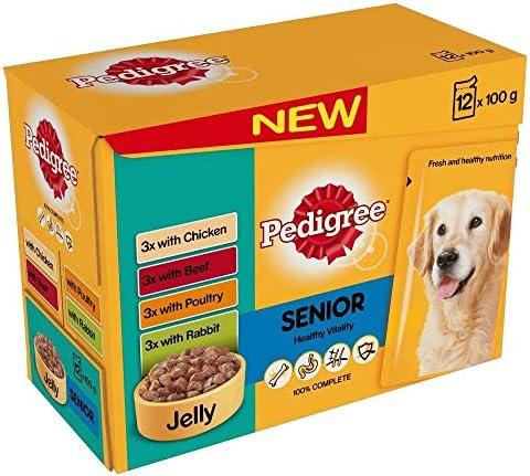 2 x Healthy Vitality in Jelly Senior Dog Food – Dogs Corner