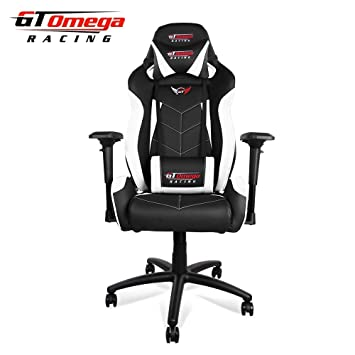 Gt Omega Elite Racing Gaming Stuhl Mit Lendenwirbelstütze