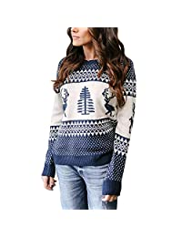Fashion Story Ladies Sweater Rich Knit Long Sleeve Pullover Round Neck Jumper