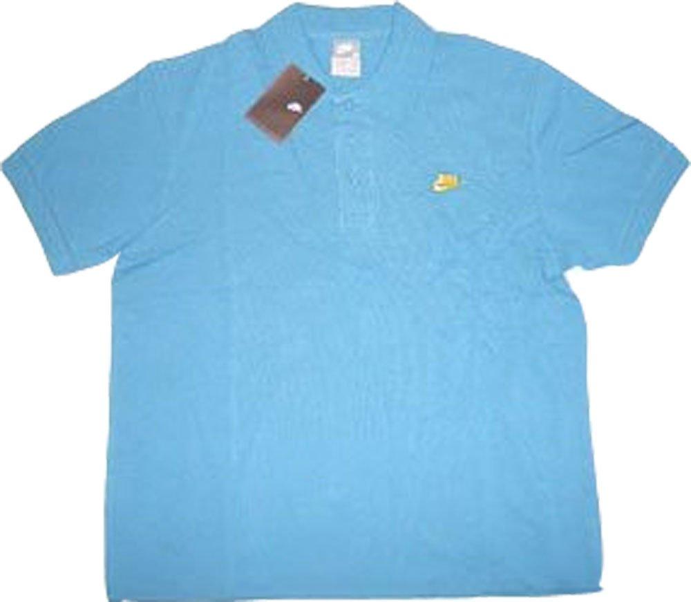Nike Polo Camiseta Premier Pique 243195 - 401 Azul XXL: Amazon.es ...
