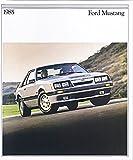 1985 MUSTANG DEALERSHIP SALES BROCHURE - ADVERTISEMENT - Includes SVO, GT, Turbo GT, LX &, L Series