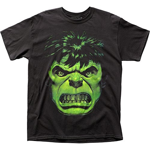 The Incredible Hulk   Angry Face T Shirt Size Xxl