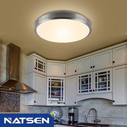 Kitchen Pendant Light Fixtures Amazon Com: NATSEN Modern Ceiling Lights LED 7W Flush Mount Ceiling