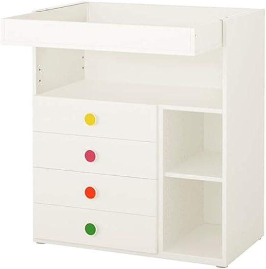IKEA StuvaFolja Cambiador con 4 cajones, color blanco