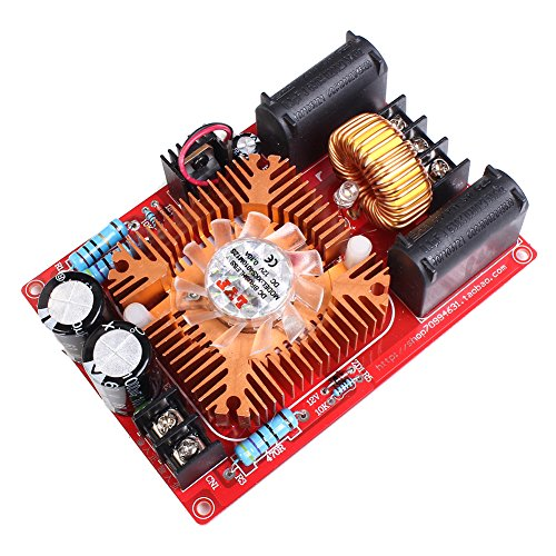 Icstation DC 12-30V High Voltage Arc Generator ZVS Flyback Driver Board with Heatsink for SGTC Marx Generator