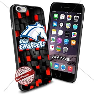 Alabama Huntsville NCAA ,Cool Iphone 6 Smartphone Case Cover Collector iphone TPU Rubber Case Black color [ Original by WorldPhoneCase Oly ]